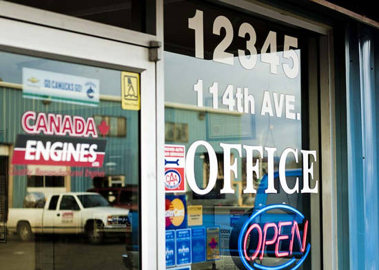 Canada Engines is located at 1235 114th Avenue in Surrey, British Columbia.