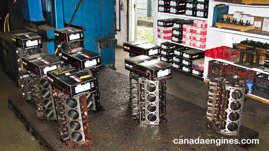 GM/ Chevrolet, Ford, Chrysler/ Dodge and import remanufactured engine blocks in stock!