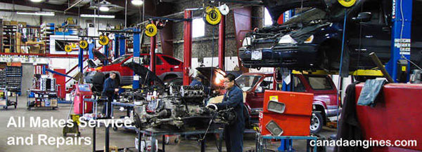 Canada Engines - all make and model automotive repairs