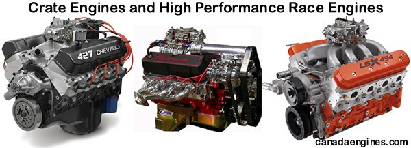 Crate Engines and high performance race motors are our specialty.