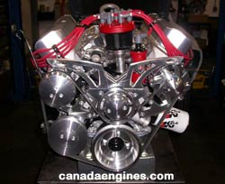 Canada Engines high performance engine... click on image for a larger engine photo