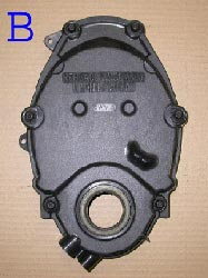 Chevrolet Vortec timing chain cover B