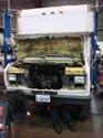 284_Ford_E350_truck_cubevan_new_V8_engine_removal_a