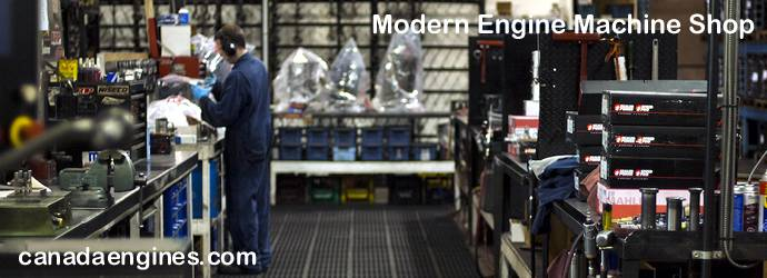 Modern In-House Engine Machine  		Shop.