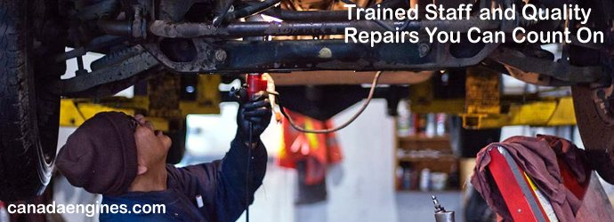 Trained Auto Mechanics Ensure  		Top Quality Repairs.