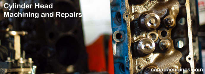 Cylinder Head Machining and  		Repairs.