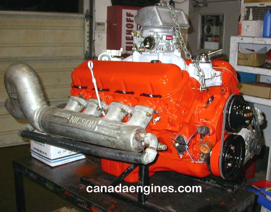 High performance jet boat engine