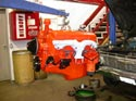 11_smallblock_Chevy_V8_remanufactured_engine_on_hoist