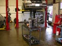 48_Chevrolet_minivan_V6_engine_on_workbench