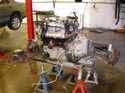 54_Chev_minivan_rebuilt_V6_engine_with_transmission