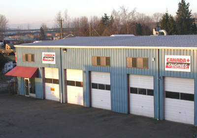 Canada Engines has 12 repair bays - 9 for engine installations and 3 for general repairs