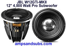 High power, great sounding car, truck and marine 8, 10, 12 and 15 inch subwoofers by JBL, Arc Audio, Infinity, Blaupunkt and more...