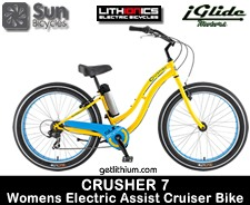 Sweet electric cruiser bike - Sun Crusher 7 Mens version...